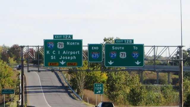 I-635 to I-29 ramp