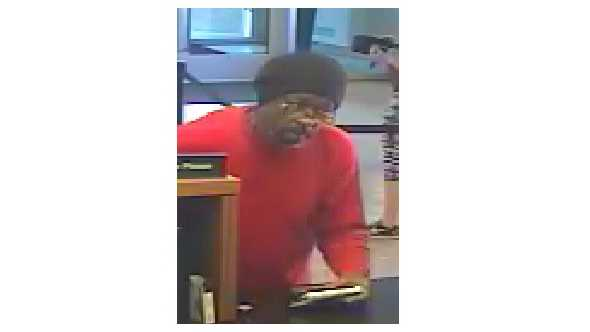 Commerce Bank robbery suspect