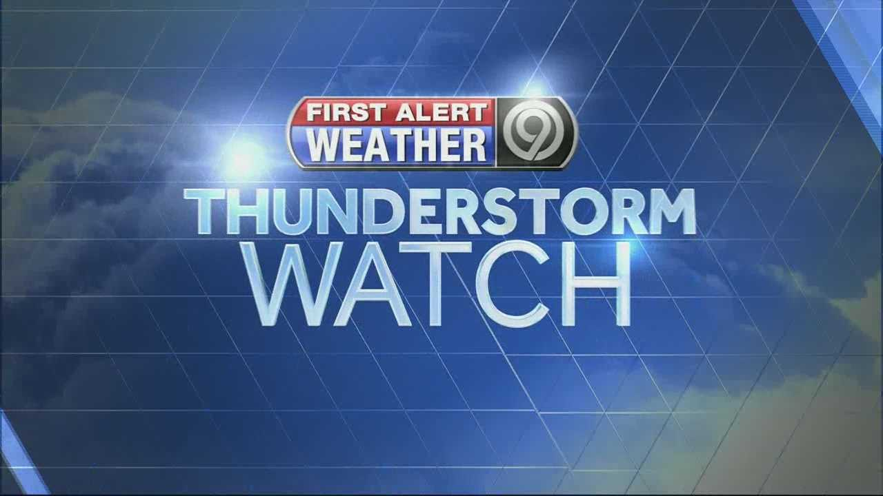 Severe thunderstorm watch kmbc firstalert