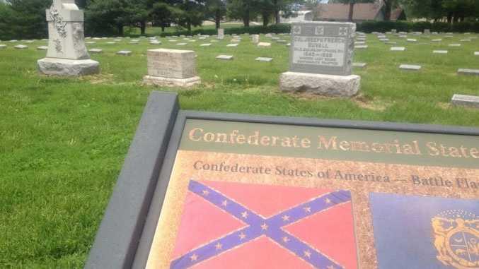 Confederate Cemetery in Higginsville, Mo.
