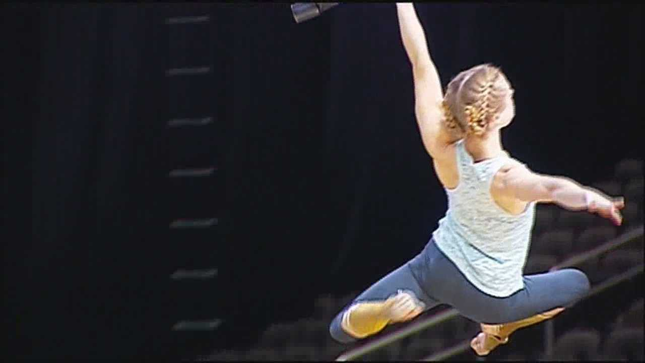 Cirque du Soliel will debut its newest show to hit Kansas City on Wednesday evening, a new high-flying twist on the story of Icarus.