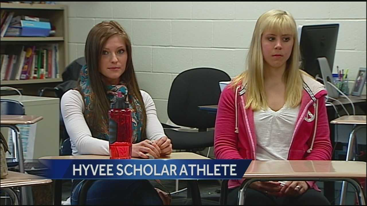 A Sumner Academy student who excels in class and in sports is the latest winner of the Hy-Vee Channel 9 scholar-athlete award.
