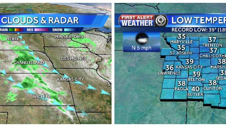 Chances for showers and more frost on the way