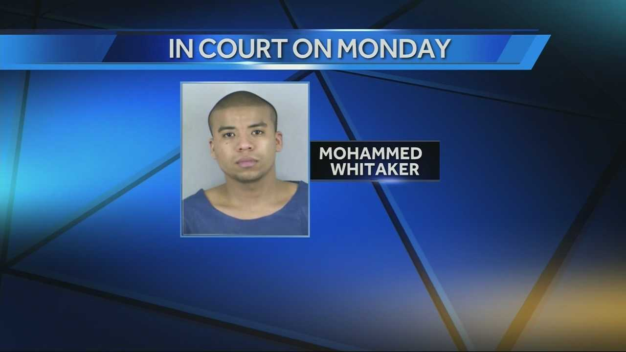 Mohammed Whitaker - In Court Monday