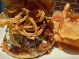 A KMBC viewer recommended the Rusty Horse Tavern in Parkville. The burgers to try are the Rusty Horse Burger or the Blue Burger. You can find the Rusty Horse Tavern at 6325 Lewis St. in Parkville.