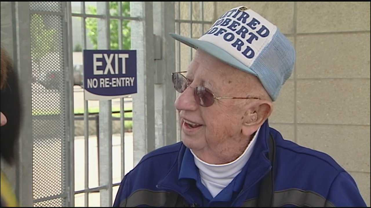 Royals ticket takers don't let age slow them down.