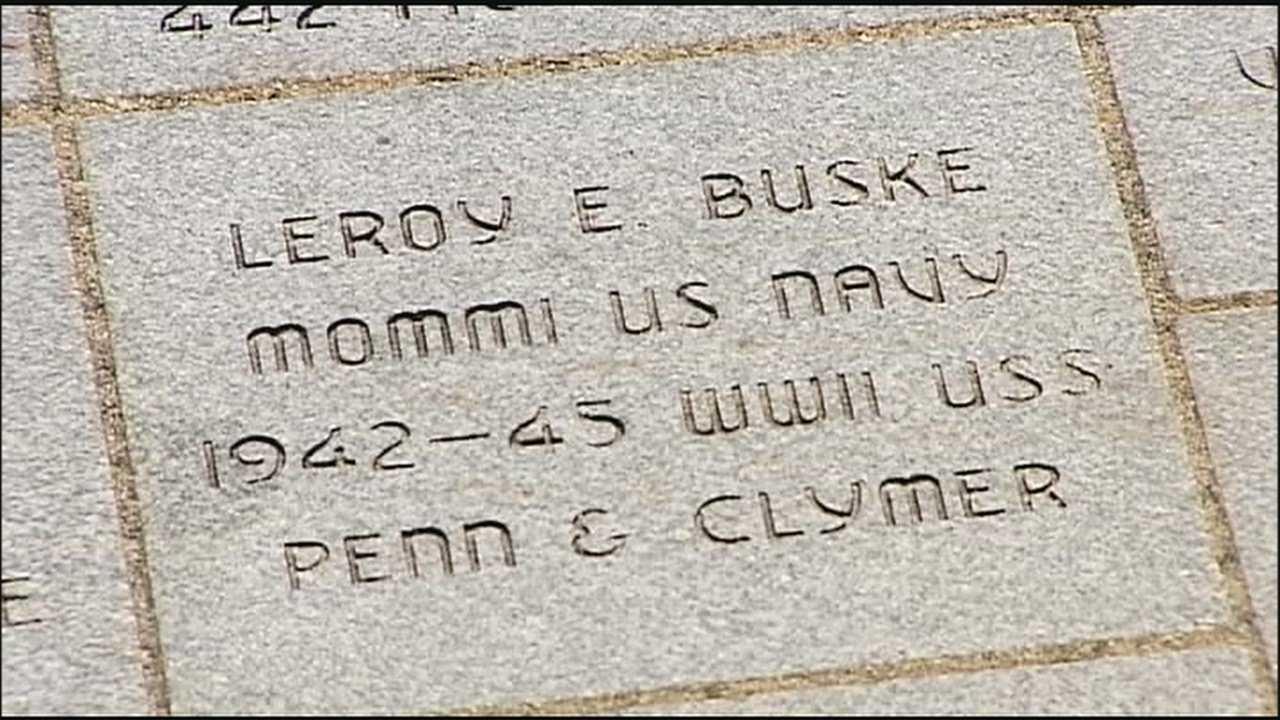 Image Walk of Honor bricks