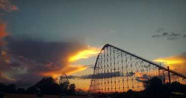 This giant cloud obviously wants to go down this roller coaster.    Click here for your latest forecast.