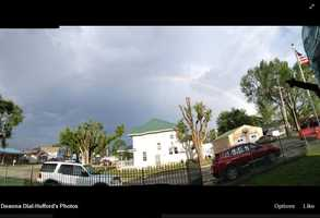 We start in Orrick, Missouri, where the residents there deserve a rainbow of hope above after a recent tornado.