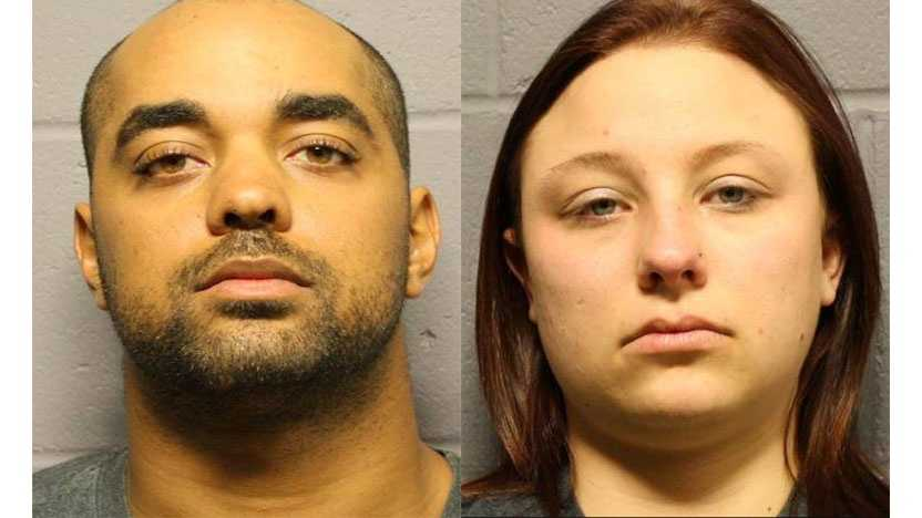 Image Edward J. Parker and Brittany Nicole Smith - Lawrence Highway shooting suspects