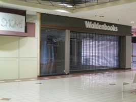 Even though it's mostly vacant, the mall is still well cared for.