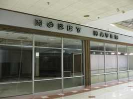 Hobby Haven had been located on the mall's ground floor for years, just outside the doors for Sears.