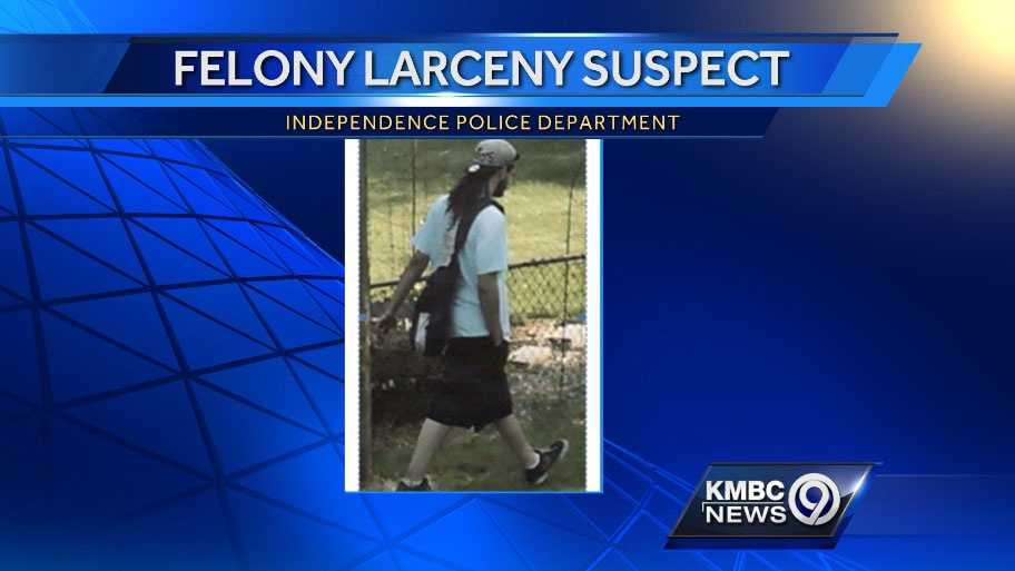 Image Larceny suspect in Independence