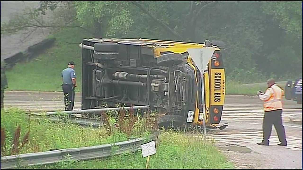 School bus crash, Raytown Road, Blue Ridge Cutoff