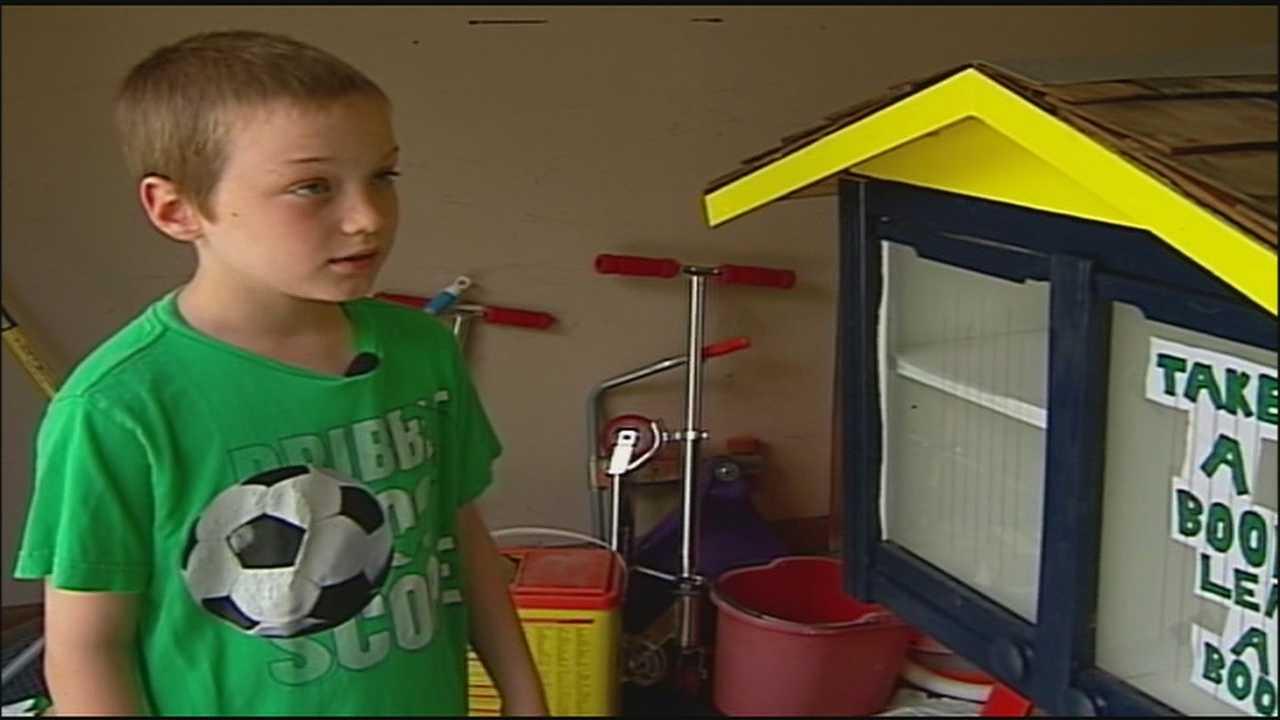 Leawood shuts down boy's little free library