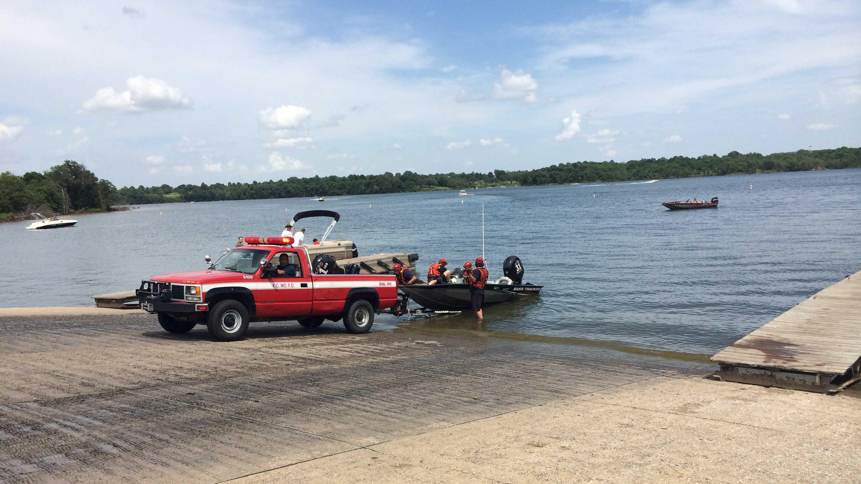Longview Lake water rescue