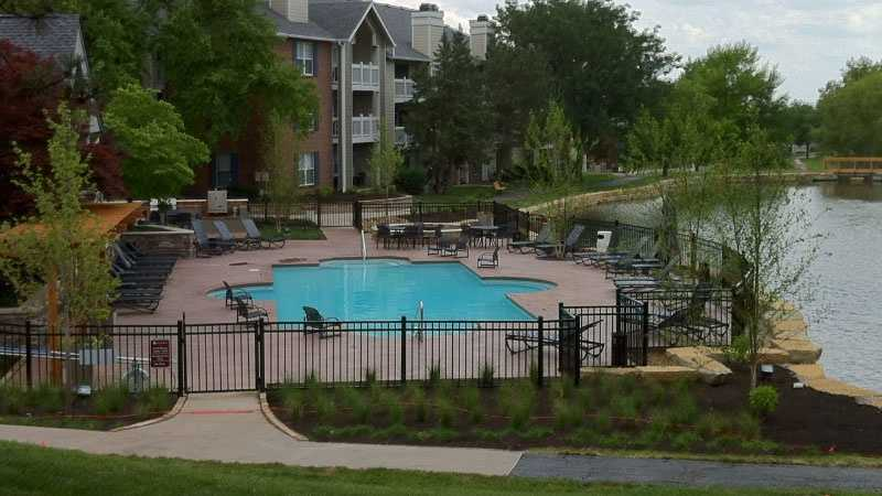 Image Apartment complex near-drowning