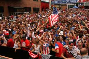 U.S. Soccer fans learn late in its match against Germany that Portugal has defeated Ghana, giving the American team a pass to the next round. Click here for more World Cup news.