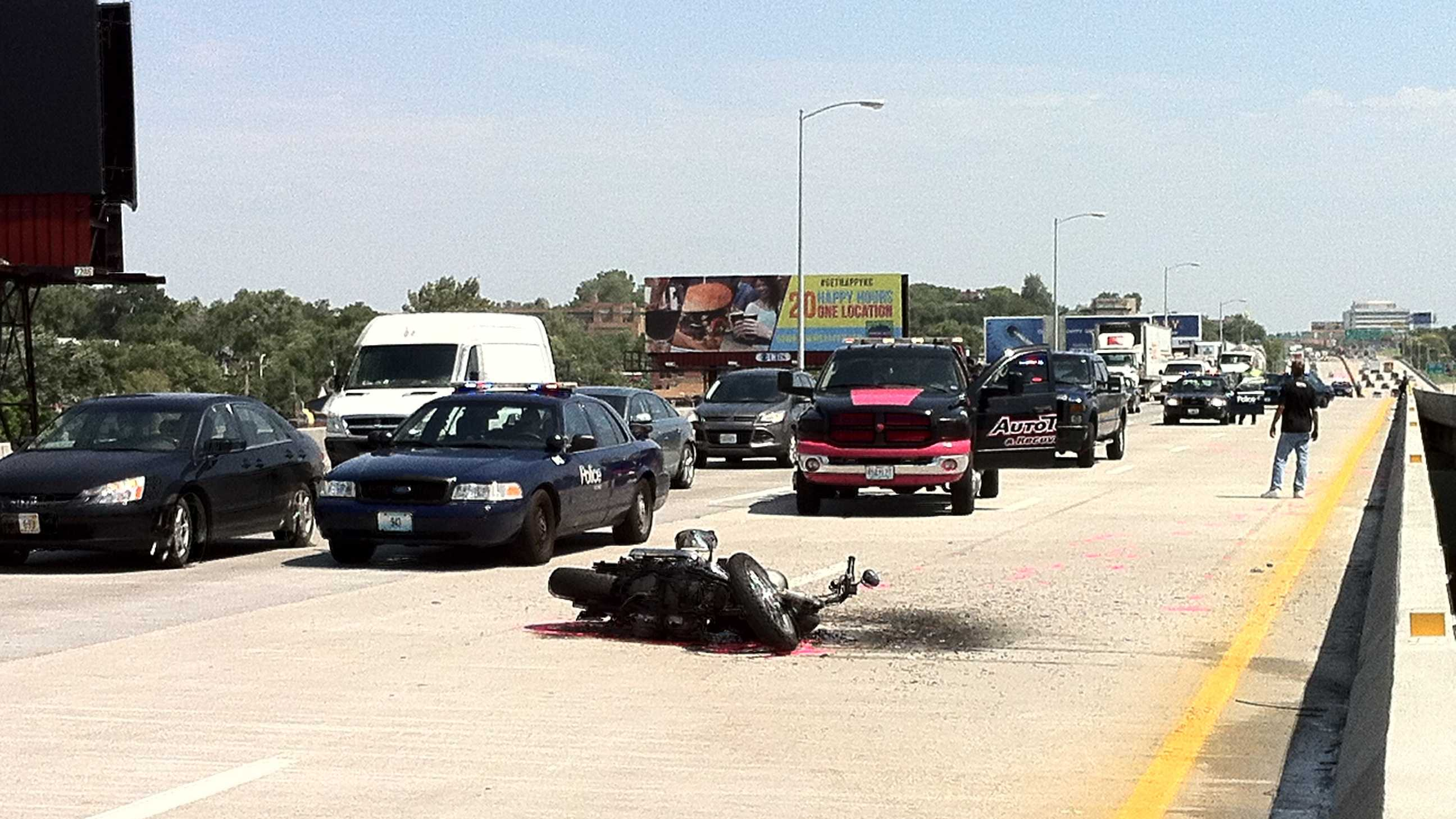 Man injured in motorcycle accident on SW Tra