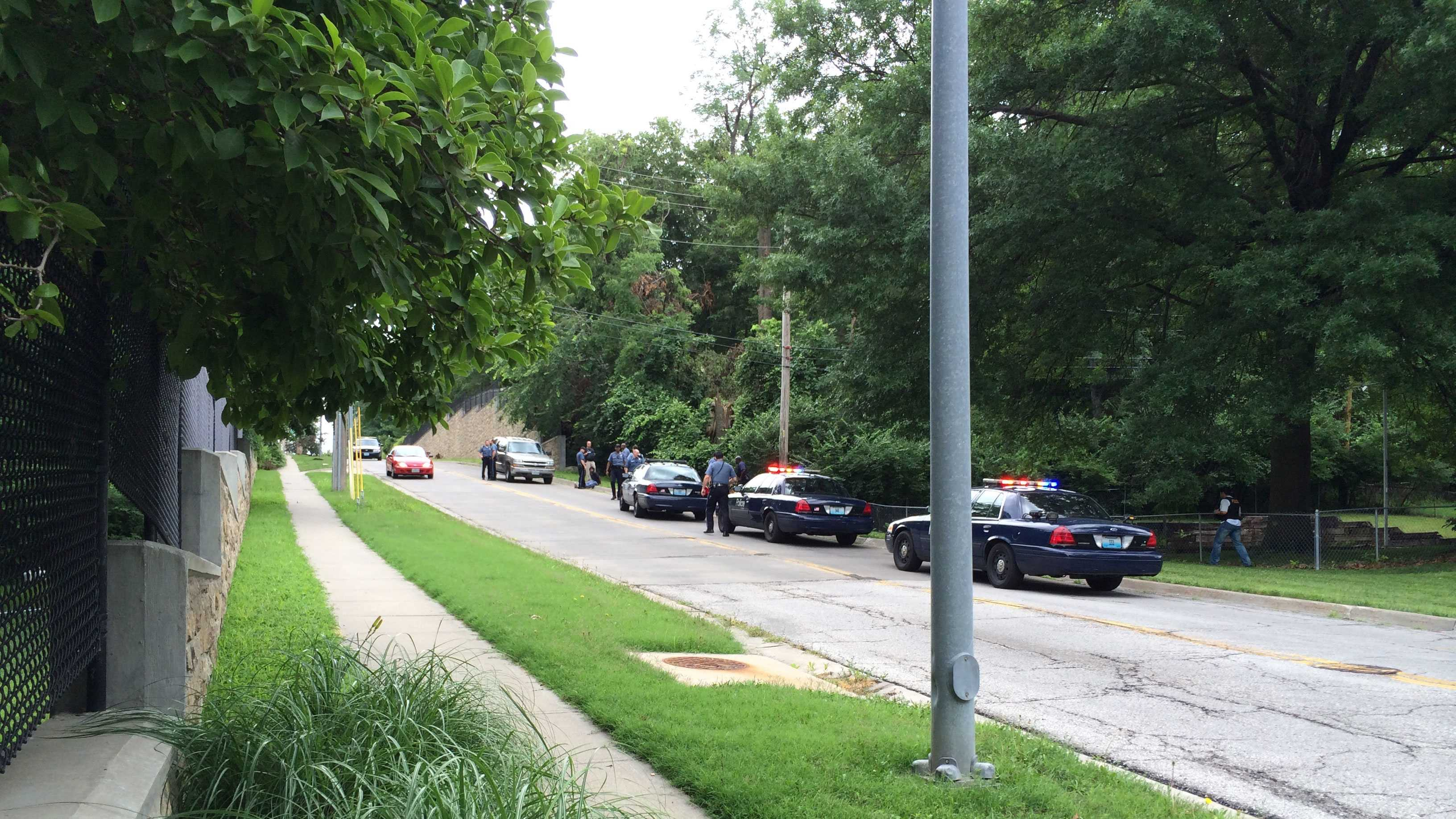 Police activity in south KC