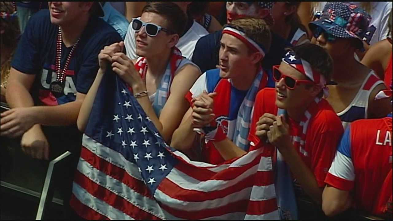 Soccer fans in Kansas City said they hope the sport's surge in popularity during the World Cup will keep going even though the United States has been eliminated.