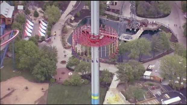 One ride is back open for thrill-seekers in the metro.