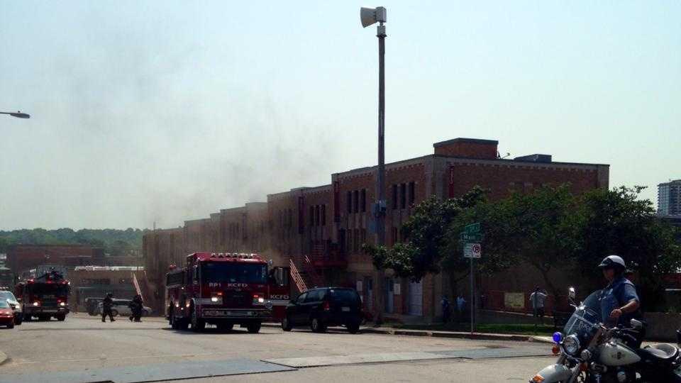 River Market fire 2