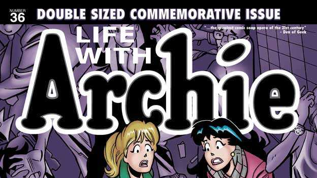 Comic book character Archie dies, cover of comic