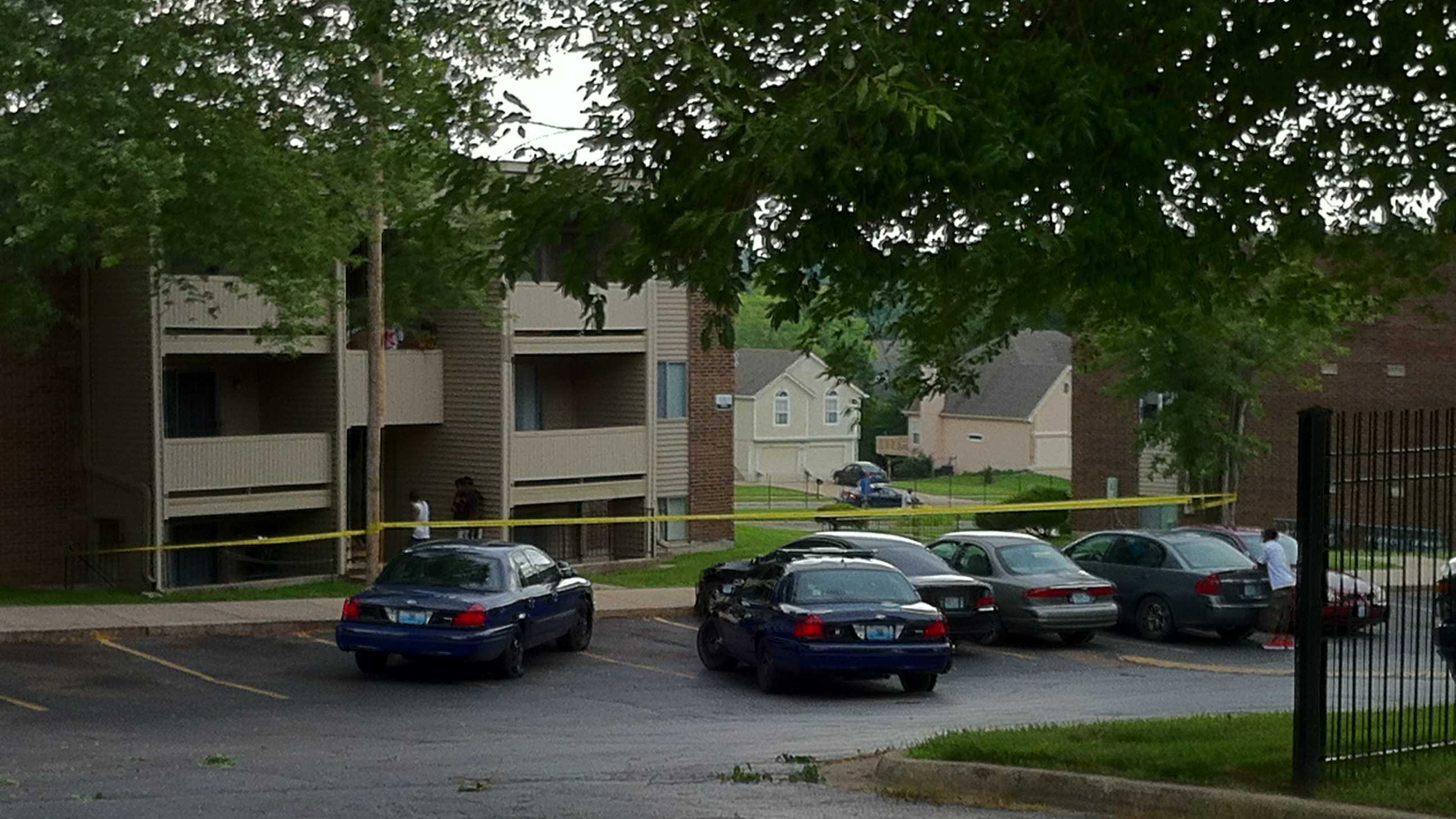 Child possibly shot at KCMO apartmen