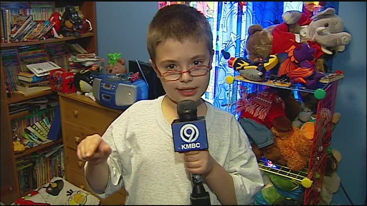 Young news fan shares passion for KMBC 9 News