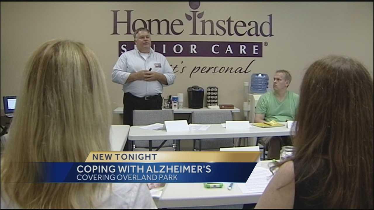 Alzheimer's class help caregivers manage their own stress