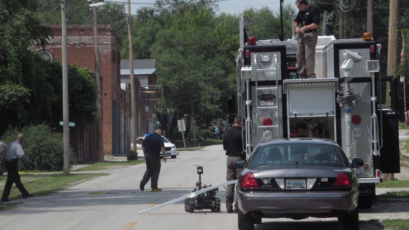Missouri City suspicious device