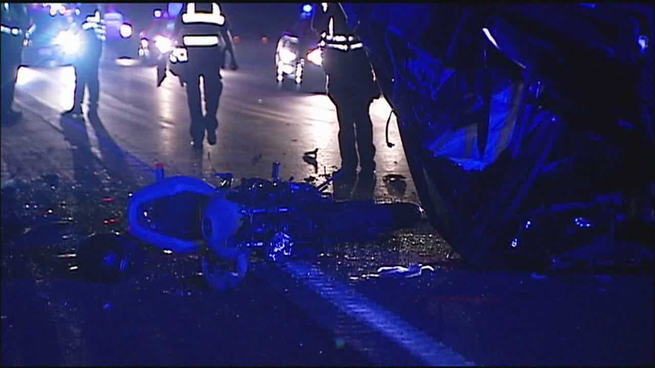 I-70, I-470 motorcycle wreck