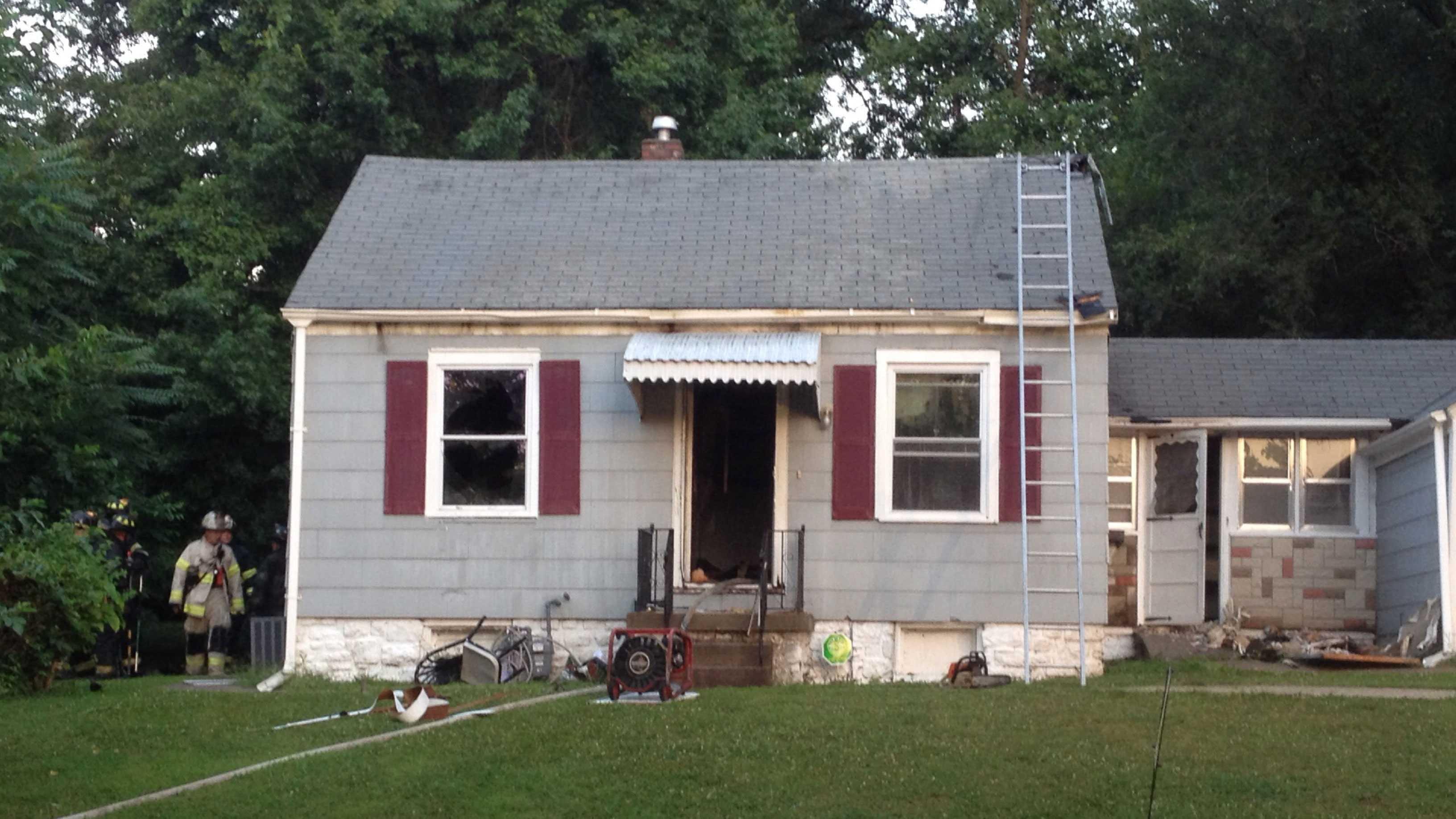 81st, Flora house fire
