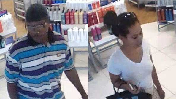 Overland Park beauty supply shoplifting suspects