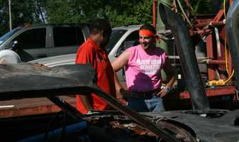 KMBC 9 News Hometown Weather series takes the demolition derby route to the Platte County Fair.  Chief meteorologist Bryan Busby interviewed derby organizers and drivers during KMBC 9 News at 5 o'clock.