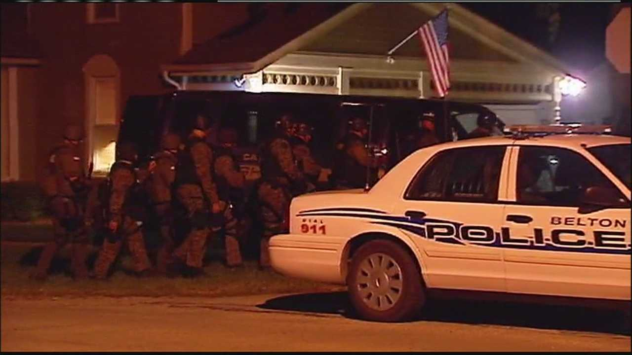Belton police standoff