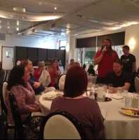 The Social Media Club of Kansas City held its monthly breakfast Friday morning.  VML's Gatorade account team gave a presentation called #OwningYourHashtag.  Air guitarist Eric Melin tells the club about the latest events for the U.S. Air Guitar Championships.  That includes a new museum opening in Kansas City with Mayor Sly James scheduled to perform air guitar Friday night.