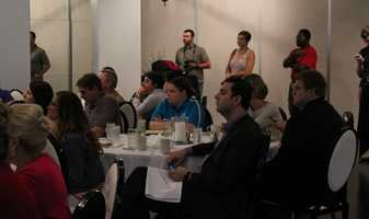 The Social Media Club of Kansas City held its monthly breakfast Friday morning.  VML's Gatorade account team gave a presentation called #OwningYourHashtag.  VML is a full-service digital marketing agency with clients worldwide.  SMCKC provides multiple events for social media education, networking and sharing.  Visit its website for more.