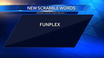 Funplex: a building with facilities for sports and games