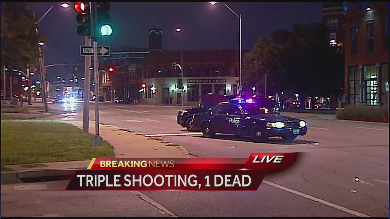 Image 1 dead in KC triple shooting