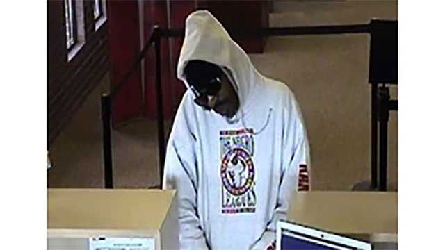 Image Suspect sought in 3 KC-area bank robberies