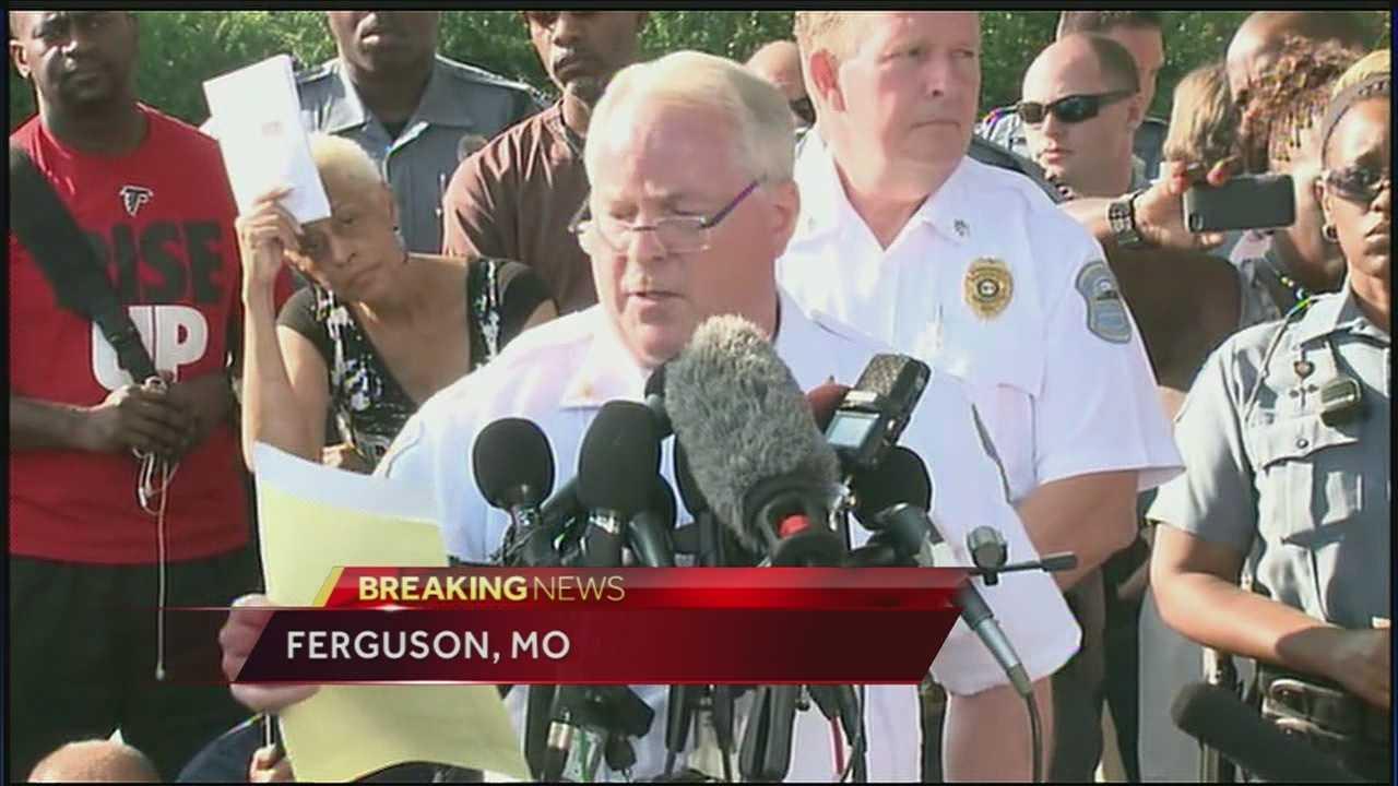 Ferguson police ID officer who shot Michael Brown