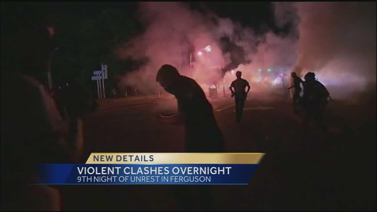 Ferguson Monday night