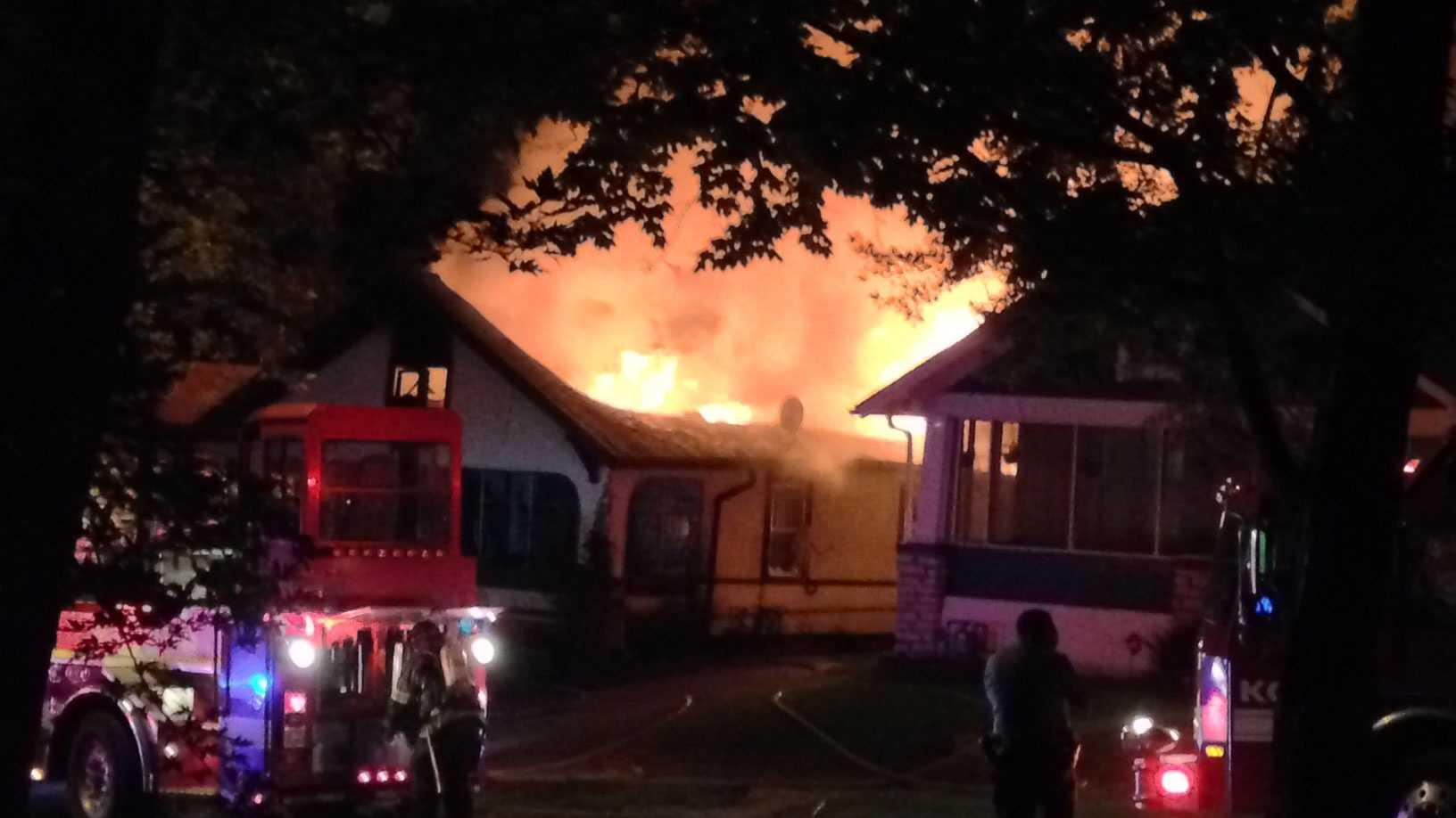69th, Benton house fire