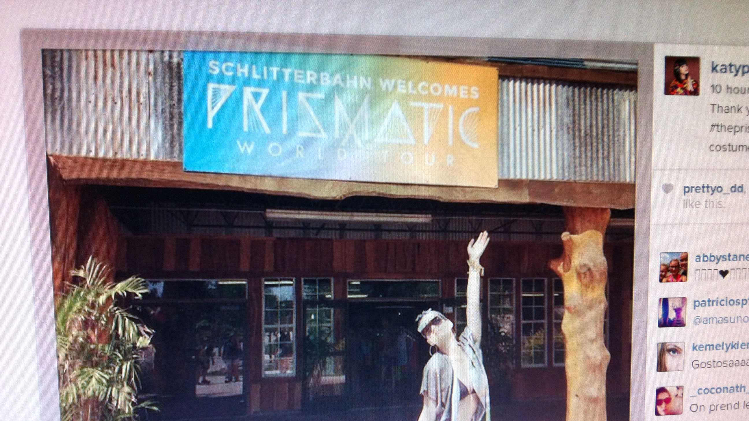Katy Perry at Schlitterbahn