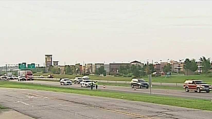 Interstate 70, pedestrian killed