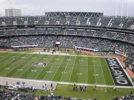 28.) Oakland RaidersCurrent Value: $970 million1 Year Change: +18%Revenue: $ 244 million