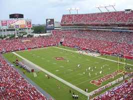 18.) Tampa Bay BuccaneersCurrent Value: $1.225 billion1 Year Change: +15%Revenue: $ 275 million