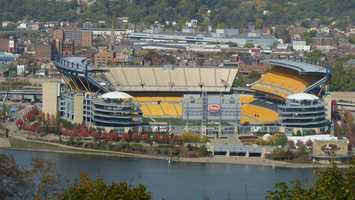 14.) Pittsburgh SteelersCurrent Value: $1.35 billion1 Year Change: +21%Revenue: $ 287 million
